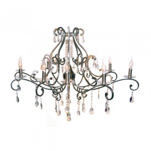 Chandelier with crystal 77905-10 OV
