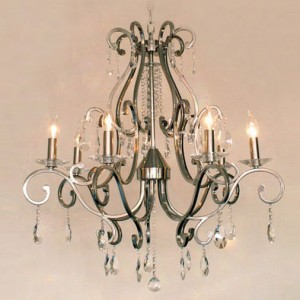 Chandelier with crystal 77905-7