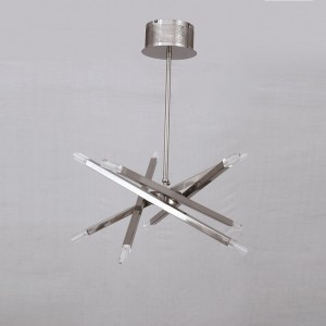 Stainless steel hanging lamp 8068 6+6