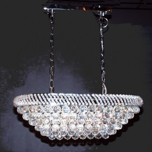 Crystal hanging lamp 802-OL