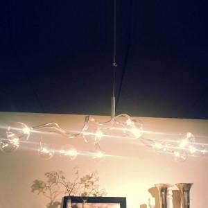 Stainless hanglamp HN1735 3+3+3+3