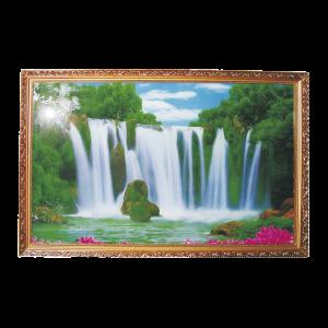 Schilderij waterval